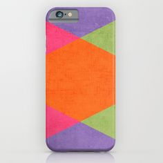 autumn triangles iPhone & iPod Case