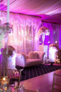Indian inspired wedding #glam #lighting