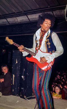 Jimi Hendrix, 1967 More