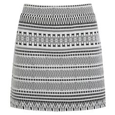ONLY Women's Nomad Aztec Mini Skirt - Cloud Dancer ($11) ❤ liked on Polyvore featuring skirts, mini skirts, saias, grey, bodycon skirt, aztec skirt, aztec bodycon skirt, short skirts and print skirt