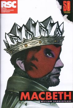 This picture shows that the mask of sanity is slowly slipping off of Macbeth's and lady Macbeth's face. It is seen in act two after the king is killed that Macbeth has a melt down and kills the servants. it can be seen that as the play goes on the mask slips farther and farther off and will keep falling until it is totally gone.