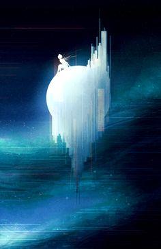 """Sea of Dreams by Scott Uminga Digital 2017"""