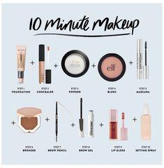 Makeup Dupes, Skin Makeup, Makeup Brushes, Anel Harry Potter, Beginner Makeup Kit, Makeup Essentials For Beginners, Basic Makeup Kit, Beginner Makeup Tutorial, Basic Makeup For Beginners