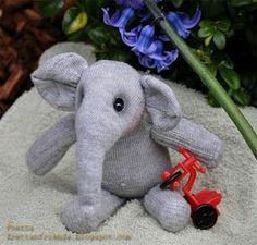 Sock elephant. O.O
