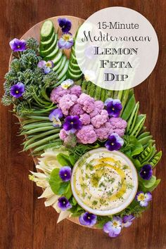 Mediterranean Lemon Feta Dip is part of Feta dip - This creamy, lemony Feta dip is perfect for parties, picnics and potlucks Serve it with raw veggies or chips for a delicious appetizer or snack! Appetizer Dips, Yummy Appetizers, Appetizer Recipes, Easter Recipes, Recipes Dinner, Dinner Menu, Veggie Appetizers, Easter Appetizers, Christmas Appetizers