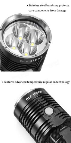 BLF Q8 4x XP-L 5000LM Professional Multiple Operation Procedure Super Bright LED Flashlight Strip Lighting, Outdoor Lighting, Bright Led Flashlight, Bezel Ring, Holiday Lights, Wall Lights, Gadgets, Bulb, Appliques