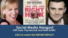 Social Media Hangout with Gary Vaynerchuk and Mari Smith!