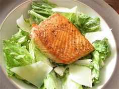 salmon caesar salad. i've been looking for a good caesar dressing recipe