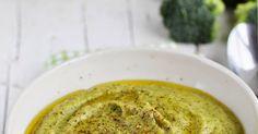 Hoy os traigo una estupenda Crema de brócoli , el brécol, bróquil, bróculi o brócoli, del latín brachium 'brazo', es una planta de la ... Chowder Soup, Hummus, A Food, Chowders, Ethnic Recipes, Soups, Drinks, Blog, Alphabet