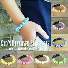 A kid's diffuser bracelet is a perfect stocking stuffer!    This style is available in 10 color options.  Just a drop of your favorite scent on the lava rock beads will give you hours of aromatherapy!    www.EssentiallyElegant.Etsy.com