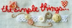 I freestyle stitched my own blog banner, photographed and edited it, then uploaded it to my blog.  Really fun to do!