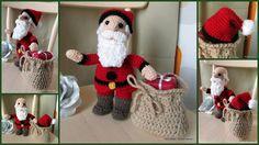 Des idées...& des mains !: Père Noël au crochet