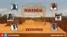 Rwanda, portraits du changement / hiryalab / RFI  / France 24 / La Stampa
