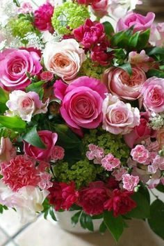 Very Beautiful Flowers, Beautiful Flower Arrangements, Amazing Flowers, Pretty Flowers, Floral Arrangements, Flowers Nature, Exotic Flowers, Pink Flowers, Good Morning Flowers