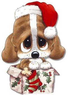 CHRISTMAS PUPPY