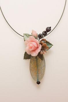אגרתל (агарталь) - ваза для цветов, иврит Совместив мое преклонение перед натуральными камнями и увлечение лепкой полимерных цветов, я придумала новый вид…