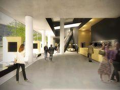 INTERIEUR - VANWILSUMVANLOON architectuur & stedenbouw (architectenbureau) Hofplein 19 Shell gebouw