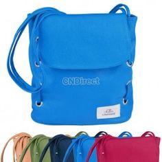 Women Candy Color Leather Handbag Cross Body Shoulder Bag Bucket Bag Messenger