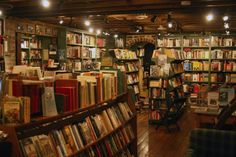 I want to run a used book store.  I want it to be cozy and relaxed and host events that make my heart easy in my chest.