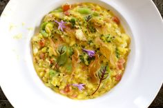 Ryan's Lobster Risotto, subject of last weeks blog on Eat the View, found on our website