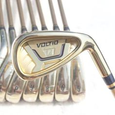 332.50$  Watch now - http://alihy6.worldwells.pw/go.php?t=32764479656 - New Golf Clubs KATANA VOLTIO HI IV Golf Irons set 5-9.P.A.S Graphite Golf shaft Clubs  headcover Free shipping