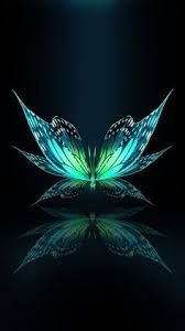 Butterfly design, a green butterfly that admires itself in a reflection, design, graphic Dragonfly Wallpaper, Galaxy Wallpaper, Cellphone Wallpaper, Wallpaper Backgrounds, Butterfly Painting, Butterfly Art, Butterfly Design, Green Butterfly, Beautiful Nature Wallpaper