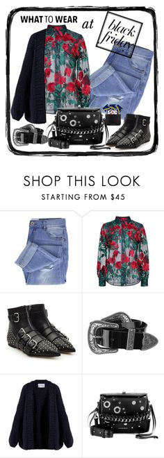 """""""Black friday shopping"""" by krista-zou on Polyvore featuring Taya, Adam Selman, RED Valentino, B-Low the Belt, I Love Mr. Mittens, Alexander McQueen and Sophie Hulme"""