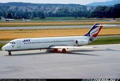 McDonnell Douglas DC-9-32 aircraft picture Mcdonald Douglas, Aircraft Pictures, Zurich, Jets, Airplanes, Switzerland, Aviation, Photos, Planes
