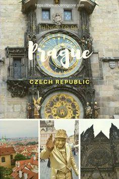 Top 10 things to do in fairytale Prague, Czech Republic #prague #czechrepublic #travel