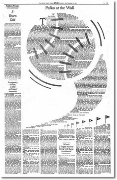 A History of Graphic Design: Chapter 58 ; History of Layout Design and Modern Newspaper & Magazins Mirko Ilić Editorial Journal, Editorial Layout, Editorial Design, Newspaper Layout, Newspaper Art, Newspaper Design, Web Design, Page Design, Print Design
