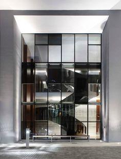 Biscayne Beauty Yabu Pushelberg Designs Miamis Brickell House PushelbergInterior Design BlogsMiamiStairs