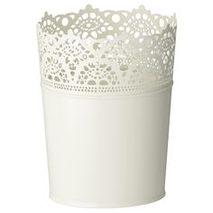 It may be a pot for plants but I see other options~  SKURAR Plant pot - IKEA