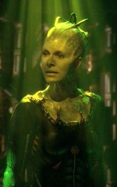 The Borg Queen (Susanna Thompson) from Star Trek: Voyager.