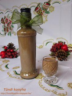 Tündi konyha: Csokoládé likőr Beverages, Drinks, Vodka, Food And Drink, Cooking Recipes, Stuffed Peppers, Decor, Drinking, Decoration