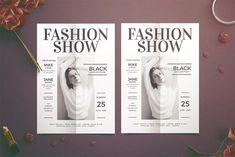 Fashion Show Flyer by Tokosatsu on @creativemarket