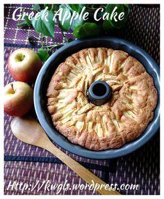Apple Cake (Milopita) With Brown Sugar Walnut Glaze (苹果蛋糕) #guaishushu #kenneth_goh  #milopita  #apple_cake   #苹果蛋糕