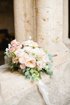Blush wedding ideas, rosy bridal bouquet, pink and white flowers, silk ribbon, summer wedding inspiration, bridal flowers, garden roses bouquet, chartreuse, enchanted place, fine art, poetry, floral design|Bouquet d'Amour Garden Rose Bouquet, Flowers Garden, Bridal Flowers, Bridal Bouquets, Pink And White Flowers, Wedding Inspiration, Wedding Ideas, Silk Ribbon, Enchanted