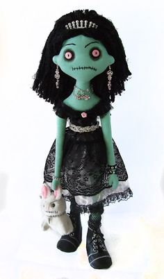 Zombie Doll.  Where's Abe Lincoln when you need him.