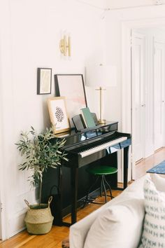 Piano in small apartment