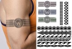 20 Tribal Armband Tattoo Designs for Men Tribal Band Tattoo, Forearm Band Tattoos, Tattoo Band, Hawaiianisches Tattoo, Tattoo Bracelet, Bicep Tattoo Men, Celtic Band Tattoo, Tribal Tattoos For Men, Tattoo Fonts