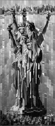 NYC. Serge MENDJISKY - Liberty  Statue
