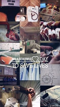"""""""It's a beautiful day to save lives"""" Shepherd, derek Greys Anatomy Frases, Grey Anatomy Quotes, School Motivation, Study Motivation, Grey's Anatomy Wallpaper Iphone, Medical Wallpaper, Medical Quotes, Greys Anatomy Characters, Medicine Student"""