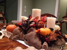 Thanksgiving centerpiece 2013