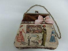 Bolso de boquilla modelo Damas Vintage.