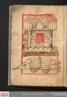 Feuerwerkbuch 1420-25 Hs 25801  Folio 3v