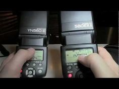 Yongnuo Flash - YN468II, 568 and 565 (Long discussion of flash and flash options) - YouTube