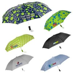44 Inch Custom Imprinted Auto Open Umbrellas: Available Colors: Black/Modern/Plaid, Gray-Chevron, Lime/Royal/White Circle, Navy Sailing Compass, Lime Gingham. Product Size: 44 Inch Arc. Imprint Area: 6W x 6-1/4H x 9-1/4W. Product Weight: 25 lbs Packaging: 36. #customopenumbrella #promotionalproduct #yearroundgift