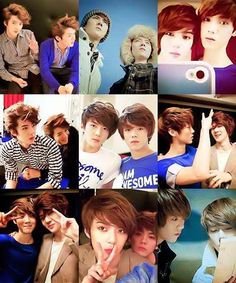 Sehun y luhan ; Luhan Exo, Exo Chanbaek, Kim Minseok, Exo Ot12, Exo K, Park Chanyeol, Otp, Song Daehan, Exo Facts