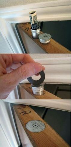 15 Secret Hiding Places That Will Fool Even the Smartest Burglar Stash Cash in the Door? – 15 Secret Hiding Places That Will Fool Even the Smartest Burglar - Door Life Hacks, Secret Hiding Places, Hidden Places, Secret Compartment, Hidden Compartments, Secret Rooms, Hidden Storage, Secret Storage, Home Projects