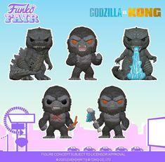 Godzilla Toys, All Godzilla Monsters, Motorhead Ace Of Spades, King Kong Vs Godzilla, His Dark Materials, Star Wars Jedi, Pop Vinyl Figures, Amazing Spiderman, Funko Pop Vinyl